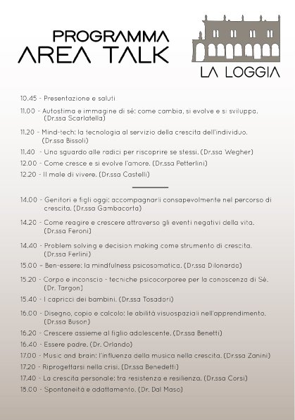 Psicologi in Piazza 2017 parte talk