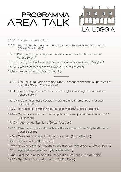 Psicologi in Piazza 2017 parte talk