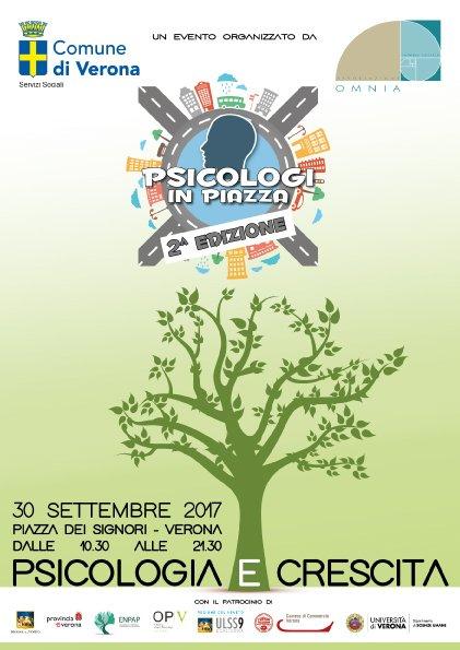 Psicologi in Piazza Verona 2017 Fronte