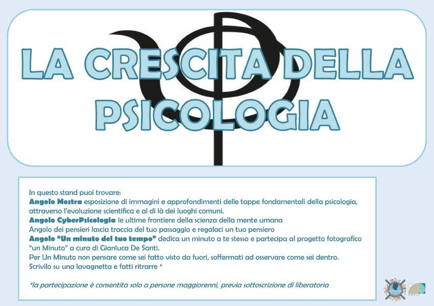 Psicologi in Piazza Verona 2017 La Crescita della Psicologia