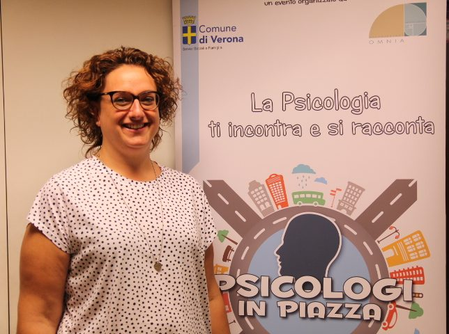 Dott.ssa Elena Ferlini OMNIA Psicologi in Piazza Verona