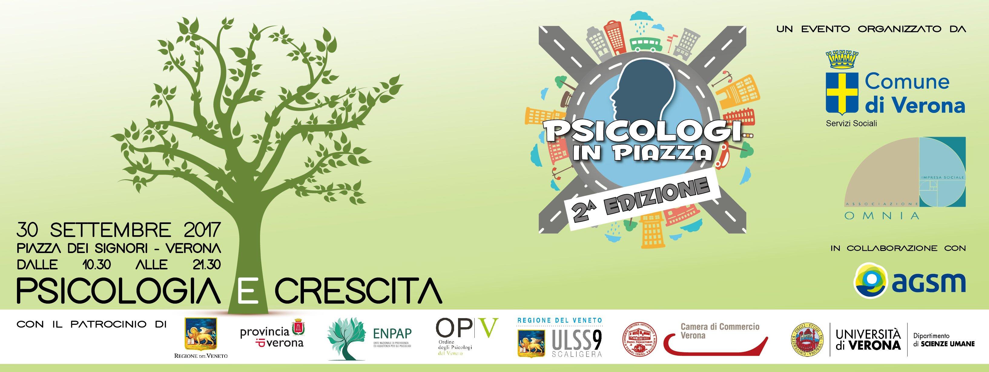 Psicologi in Piazza Verona 2017 lungo